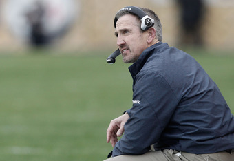 Recently hired by the New Orleans Saints, Steve Spagnuolo was the Scarlet Knights' secondary coach in 1994.