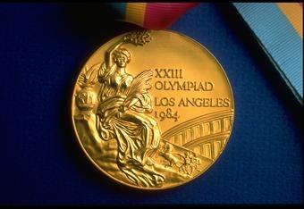 Gold Medal 1984 Summer Olympics Los Angeles California