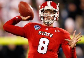 N.C. State quarterback Mike Glennon