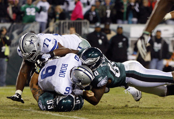 Romo is going to get a lot more of this treatment in 2012!