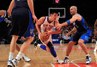 Could Jason Kidd and Jeremy Lin be the answer to Carmelo Anthony and Amar'e Stoudemire's struggles?