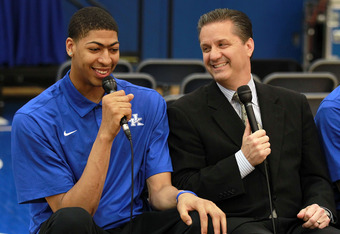 Calipari Would Love to Have Davis Come Back