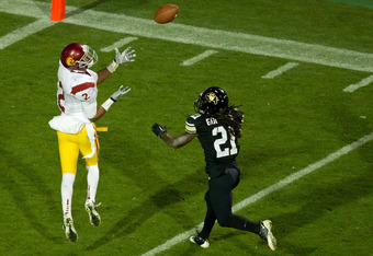 Woods led the Pac-12 with 111 catches in 2011