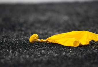 SEATTLE, WA - DECEMBER 12:  A penalty flag during a game between the St. Louis Rams and the Seattle Seahawks at CenturyLink Field December 12, 2011 in Seattle, Washington. Seattle won 33-13. (Photo by Jay Drowns/Getty Images)