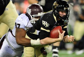 Mississippi State defensive tackle Josh Boyd