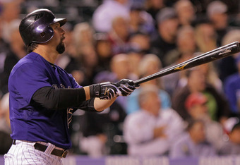 Todd Helton is still driving in runs in 2012.
