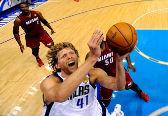 Dirk rose abovev the Heat's Big Three in that pivotal Game Four to carry the Mavs to their first NBA title.