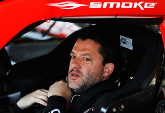 Tony Stewart has had his share of anger issues in recent years