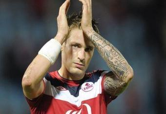 Where will Debuchy show off his tatoos next season?