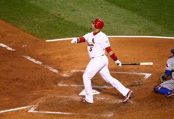 Pujols was the best hitter in baseball during his time with the Cardinals.