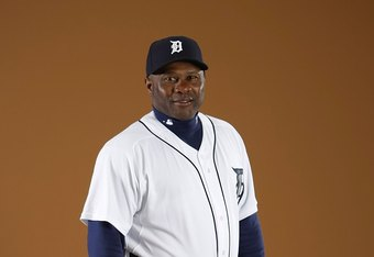LAKELAND, FL - FEBRUARY 27:  Batting Coach Lloyd McClendon of the Detroit Tigers poses during photo day at the Detroit Tigers Spring Training facility on February 27, 2010 in Lakeland, Florida.  (Photo by Gregory Shamus/Getty Images)