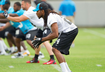 Josh Norman learned how to practice at Panthers' rookie minicamp last weekend.