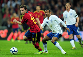 With England Coming Up Against World-Class Forwards, Experienced Defenders Like Ashley Cole Are Key
