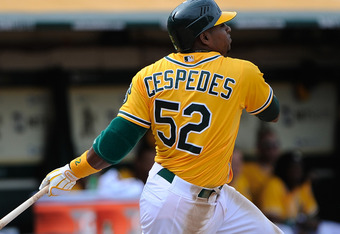 Cespedes is by far the most talented player the A's have.