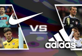 BENCH – Manuel Neuer, Laurent Koscielny, Bastian Schweinsteiger, Kaka,  David Silva, Nani, Edinson Cavani (Adidas). Vs.