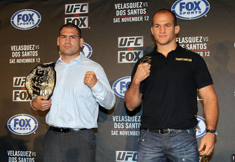 The title fight between heavyweights Junior dos Santos and Cain Velasquez pulled in record numbers on FOX.