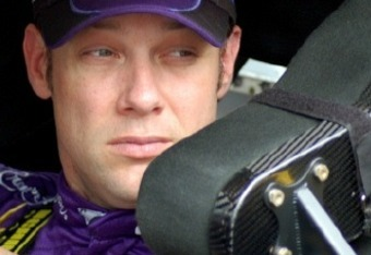 Matt Kenseth gets ready for a practice run--Credit: Dwight Drum at Racetake.com