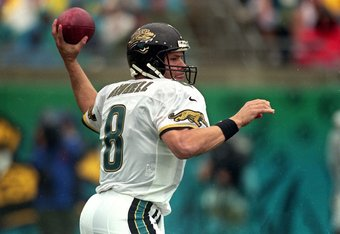 Mark Brunell, quite possibly about to throw an interception.