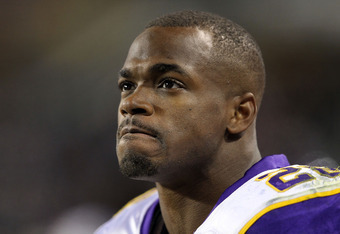 Will Adrian Peterson be healthy by Week 1?