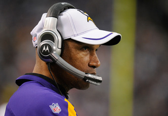 Leslie Frazier will face an uphill battle in 2012.