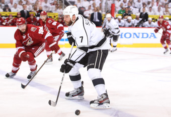 Rob Scuderi is five wins away from his second Stanley Cup