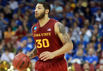 LOUISVILLE, KY - MARCH 17:  Royce White #30 of the Iowa State Cyclones brings the ball up court against the Kentucky Wildcats during the third round of the 2012 NCAA Men's Basketball Tournament at KFC YUM! Center on March 17, 2012 in Louisville, Kentucky.