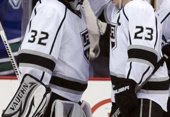 Kings goaltender Jonathan Quick and captain Dustin Brown have played a huge role in the Kings' dominance this postseason.