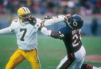 Dave Duerson suffered the effects of playing a brutal game.