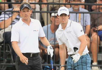 Luke Donald and Rory McIlroy will lead the European Ryder Cup Team