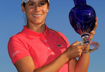 Azahara Munoz won her first LPGA title at the Sybase Match Play