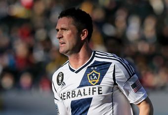 Keane has enjoyed a good first year with the Los Angeles Galaxy.