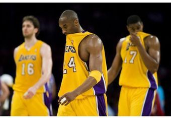 If Kobe Bryant can't keep Pau Gasol and Andrew Bynum engaged, the Lakers will struggle to find postseason success.