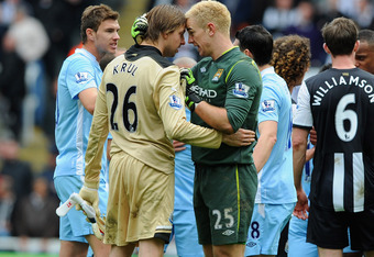The master of goalkeeping. And Joe Hart.