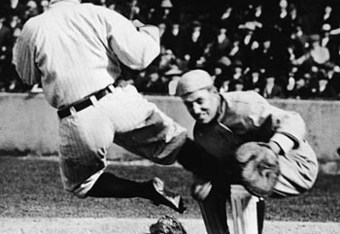 This was an everyday thing for Ty Cobb