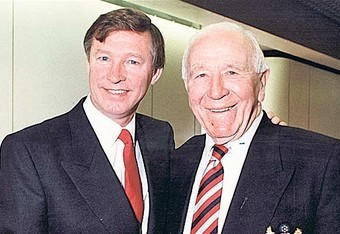 Alex Ferguson with Sir Matt Busby (telegraph.co.uk)