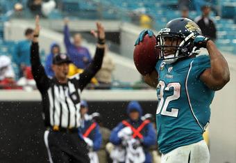 Maurice Jones-Drew has become a fixture in NFL end zones.
