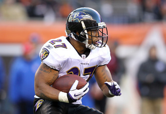 Ray Rice has been one of the top backs in the league, contributing in a variety of ways for the Ravens.