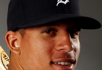 LAKELAND, FL - FEBRUARY 28:  Quintin Berry #66 of the Detroit Tigers poses for a portrait on February 28, 2012 at Joker Marchant Staduim in Lakeland, Florida.  (Photo by Elsa/Getty Images)