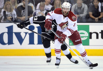 "Defenseman Keith Yandle said the season was a ""great success, I have no complaints."""