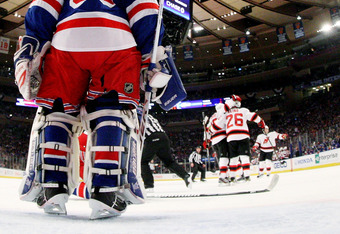 Can Quick outplay the extrememely talented Henrik Lundqvist and his inconsistent Rangers team?