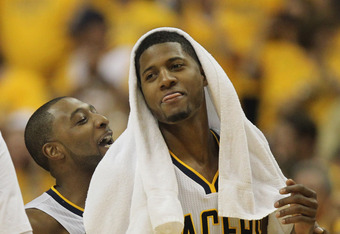 Paul George seemed to vanish during the Pacers/Heat series.