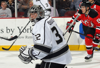 Kings netminder Jonathan Quick has been brilliant all season.