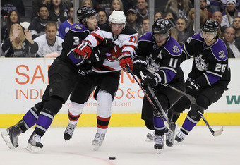 The Kings will have to keep the Devils Ilya Kovalchuk under wraps to win the Stanley Cup Finals.