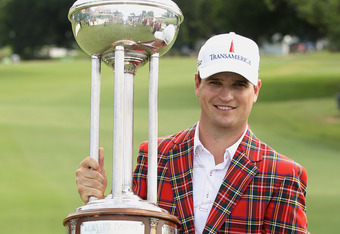 Zach Johnson won the Crowne Plaza Invitational at Colonial