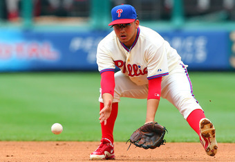 Freddy Galvis has greatly exceeded expectations in filling in for Chase Utley