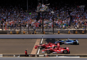 Dan Wheldon's three best friends took the top spots in the Indy 500