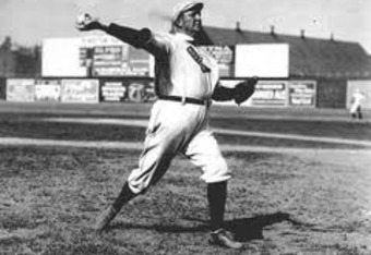 Cy Young ruled at the Huntington Avenue Grounds.