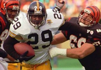 Foster's 1,690 rushing yards in 1992 remains a Steelers' record.