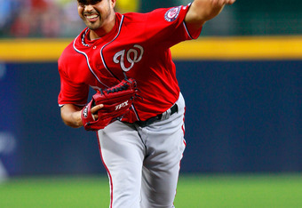 Nationals pitcher Gio Gonzalez leads Major League Baseball's best rotation.