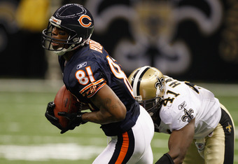 Former Chicago Bear Sam Hurd